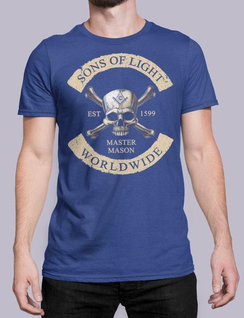 Son Of Light Worldwide Masonic T-shirt Son Of Light Worldwide royal shirt 33