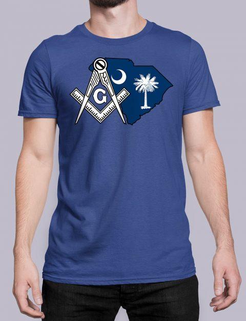 South Carolina Masonic Tee South Carolina royal shirt