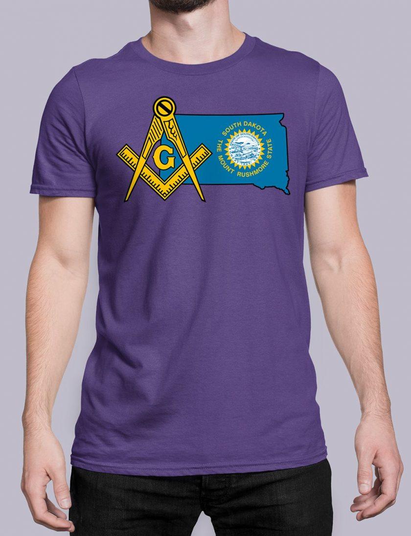 South Dakota purple shirt