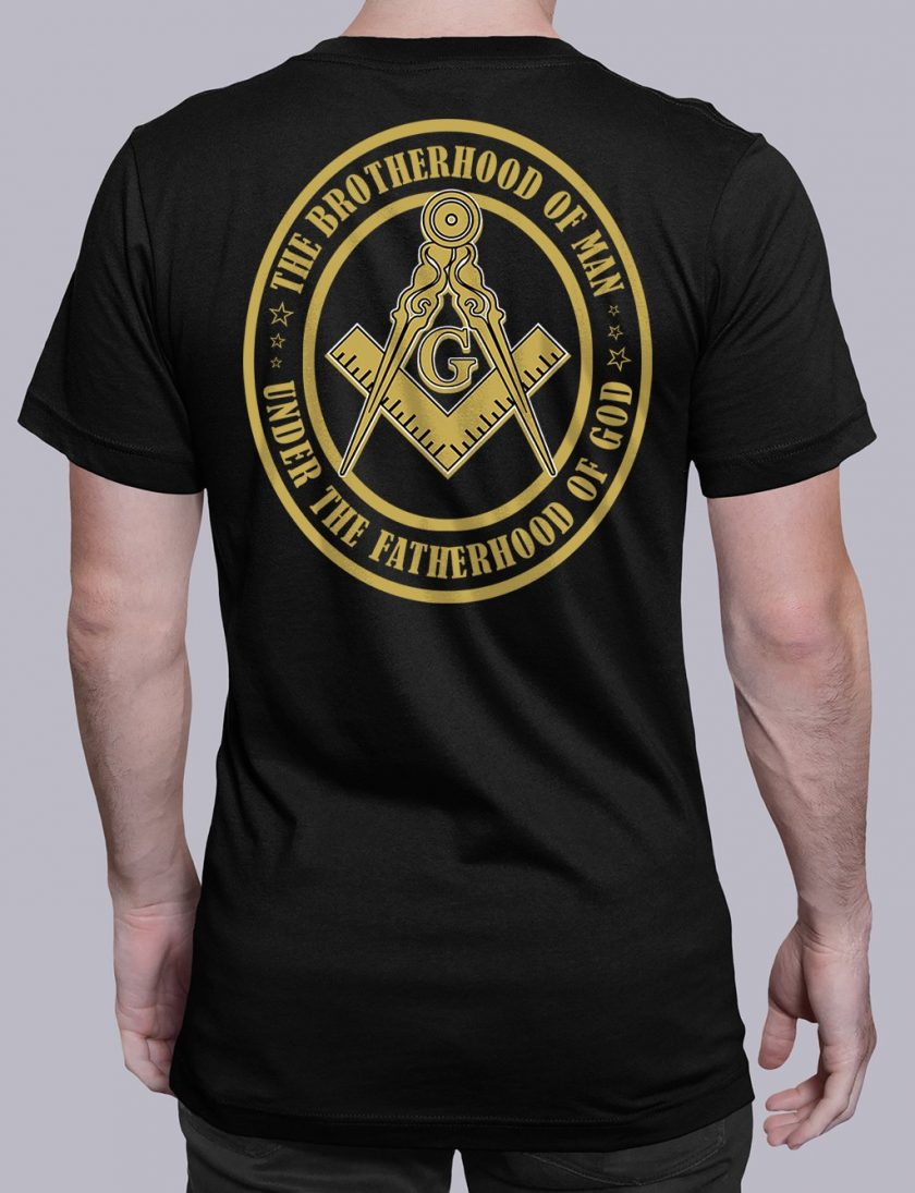 The Brothehood Of Man back black shirt back 12
