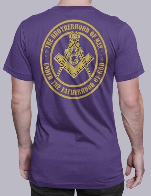 The Brothehood Of Man Back The Brothehood Of Man back purple shirt back 12