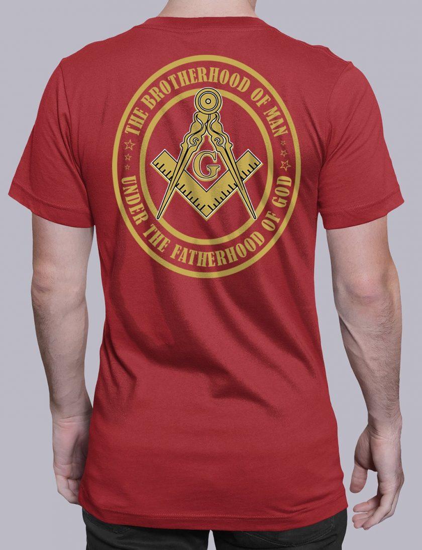 The Brothehood Of Man back red shirt back 12