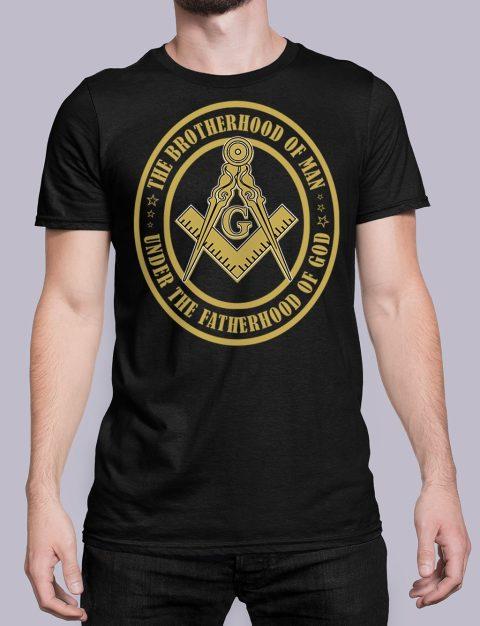 The Brothehood Of Man The Brothehood Of Man front black shirt 35