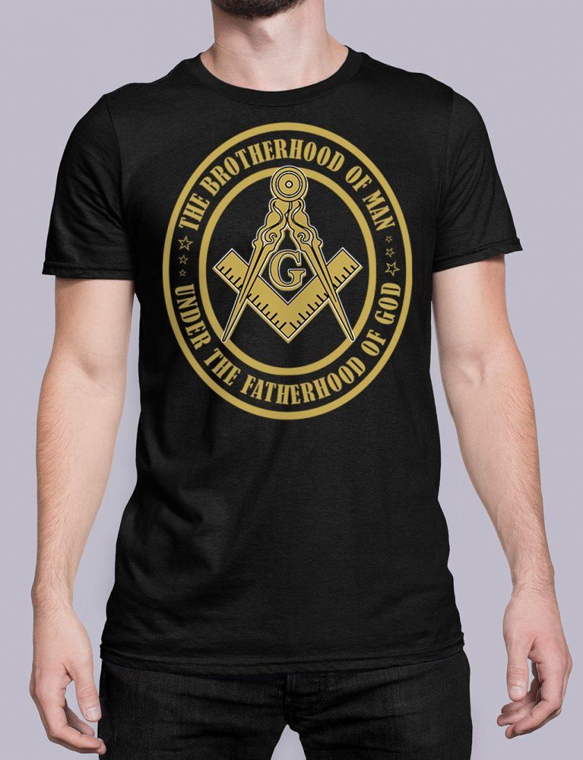 The Brothehood Of Man front black shirt 35