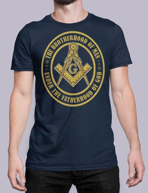 The Brothehood Of Man The Brothehood Of Man front navy shirt 35