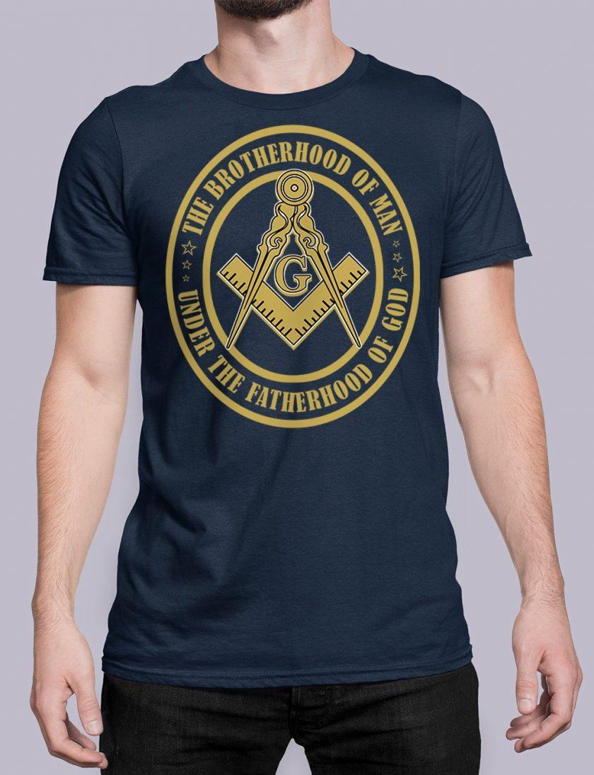 The Brothehood Of Man front navy shirt 35