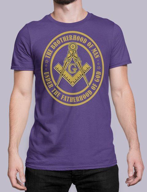 The Brothehood Of Man The Brothehood Of Man front purple shirt 35