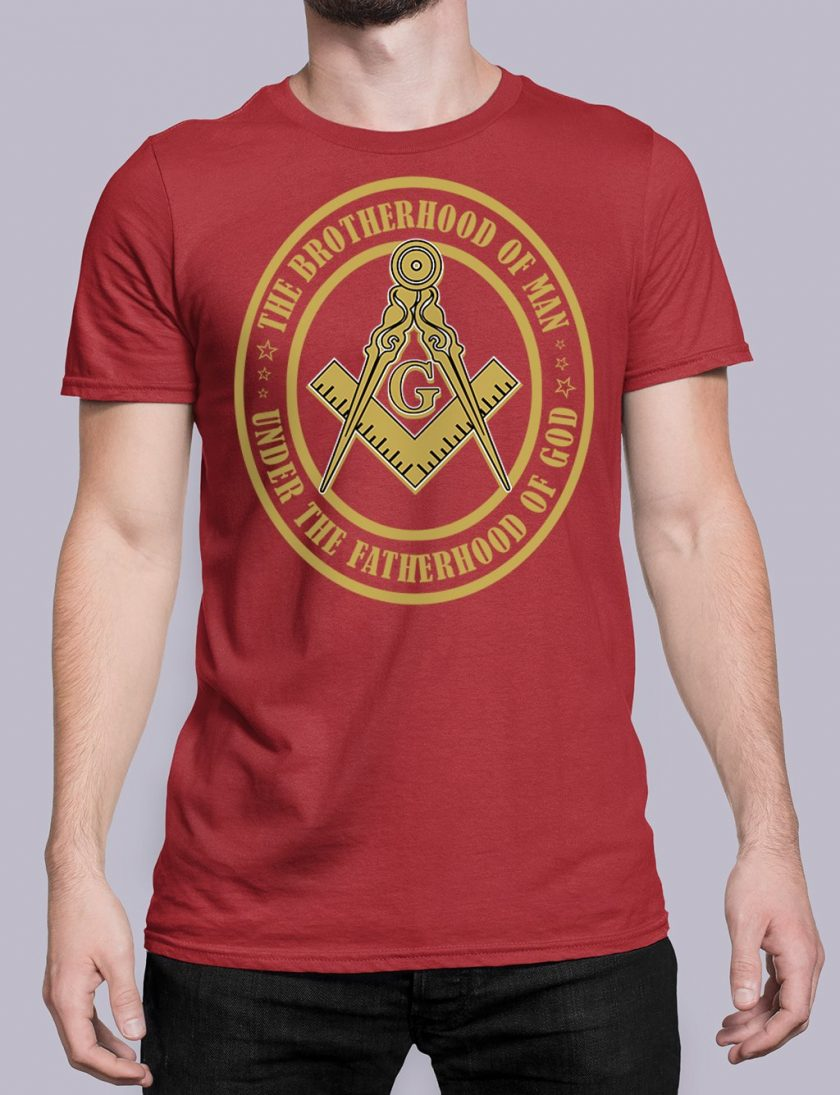 The Brothehood Of Man front red shirt 35