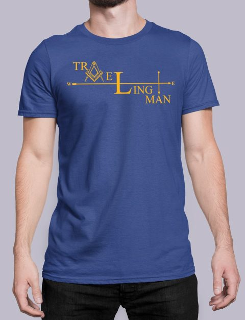 Traveling Man Masonic T-shirt Traveling Man royal shirt 38