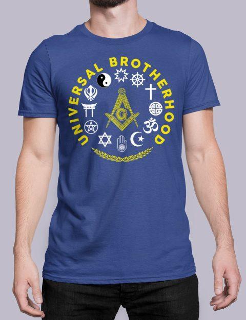 Universal Brotherhood Masonic T-Shirt Universal Brotherhood royal shirt 40