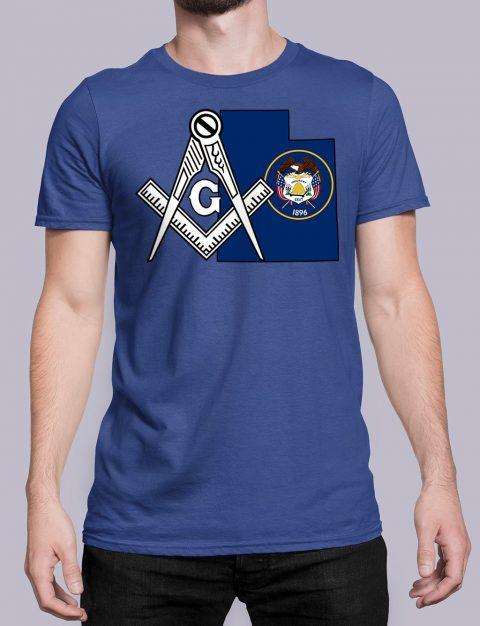 Utah Masonic Tee Utah royal shirt