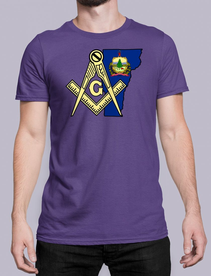 Vermont purple shirt