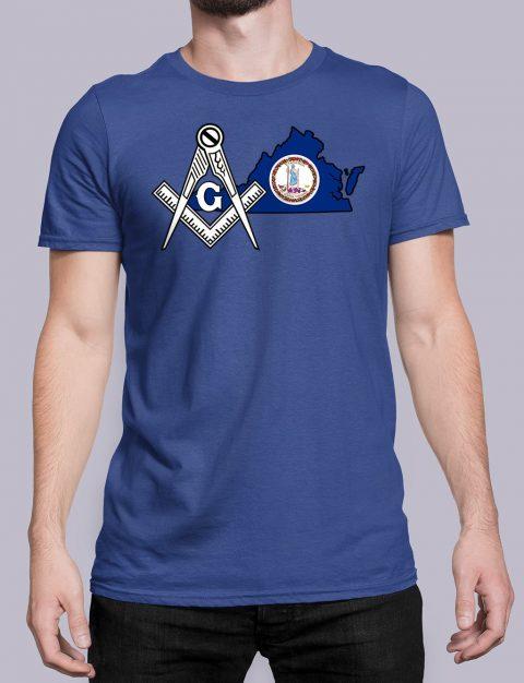 Virginia Masonic Tee Virginia royal shirt