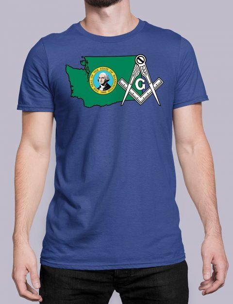 Washington Masonic Tee Washington royal shirt