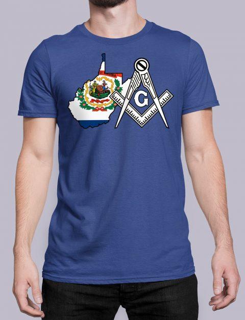 West Virginia Masonic Tee West Virginia royal shirt
