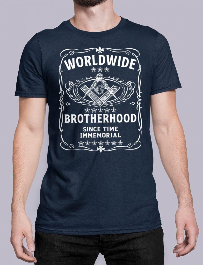 Worldwide Brotherhood Masonic vnavy shirt 43
