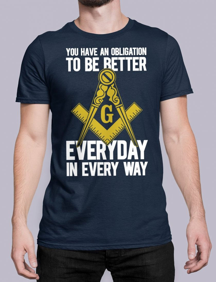 You Have An Obligation navy shirt 45