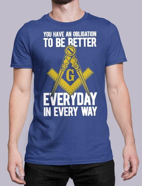 You Have An Obligation Masonic T-Shirt You Have An Obligation royal shirt 45
