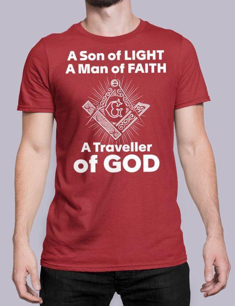 A Son of Light T-Shirt a son of light red shirt