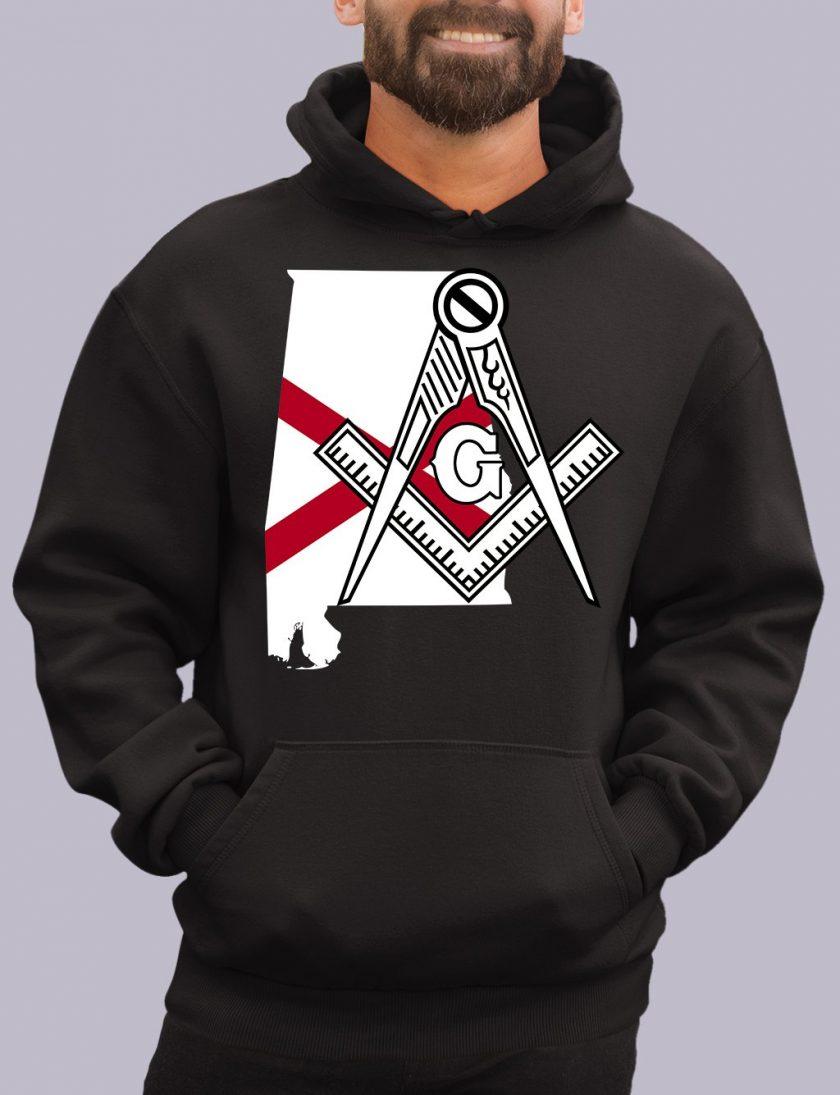 alabama black hoodie