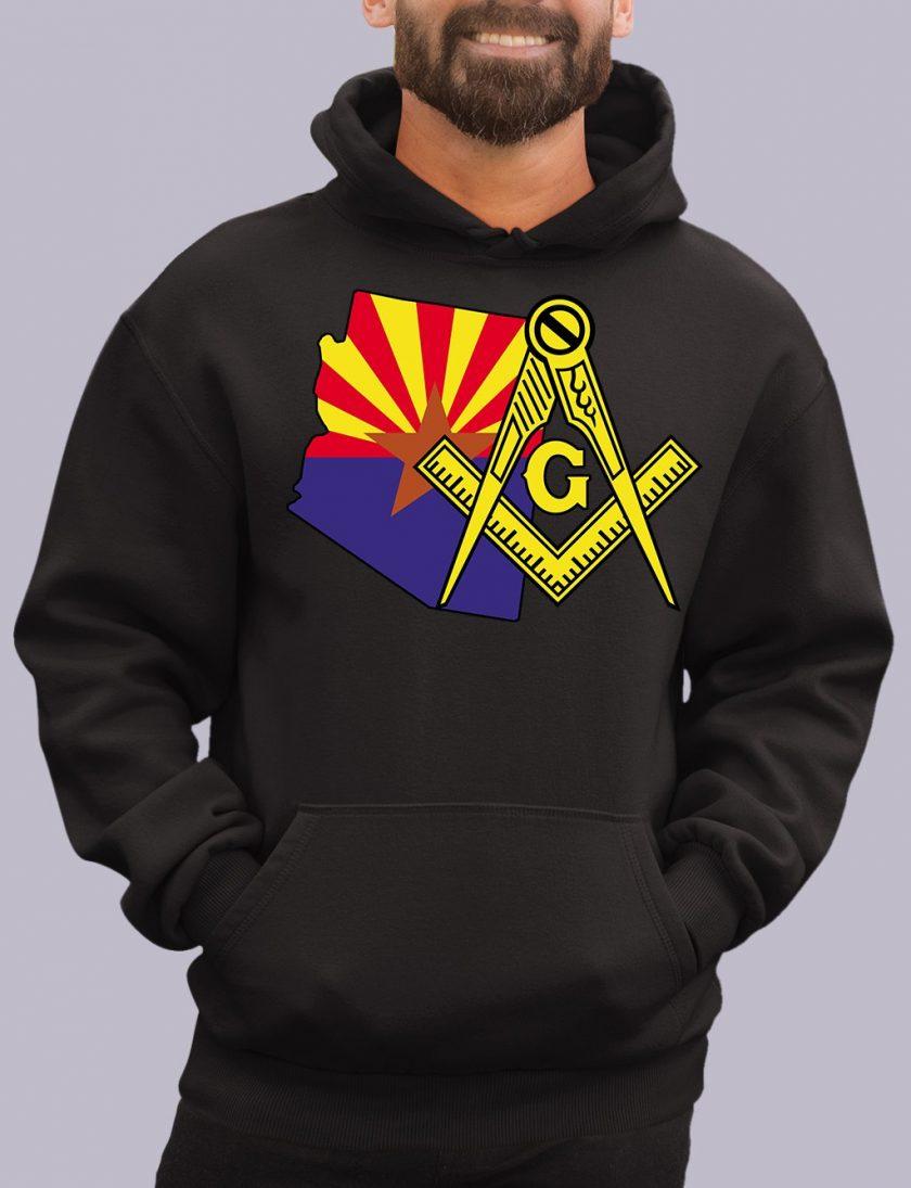 arizona black hoodie