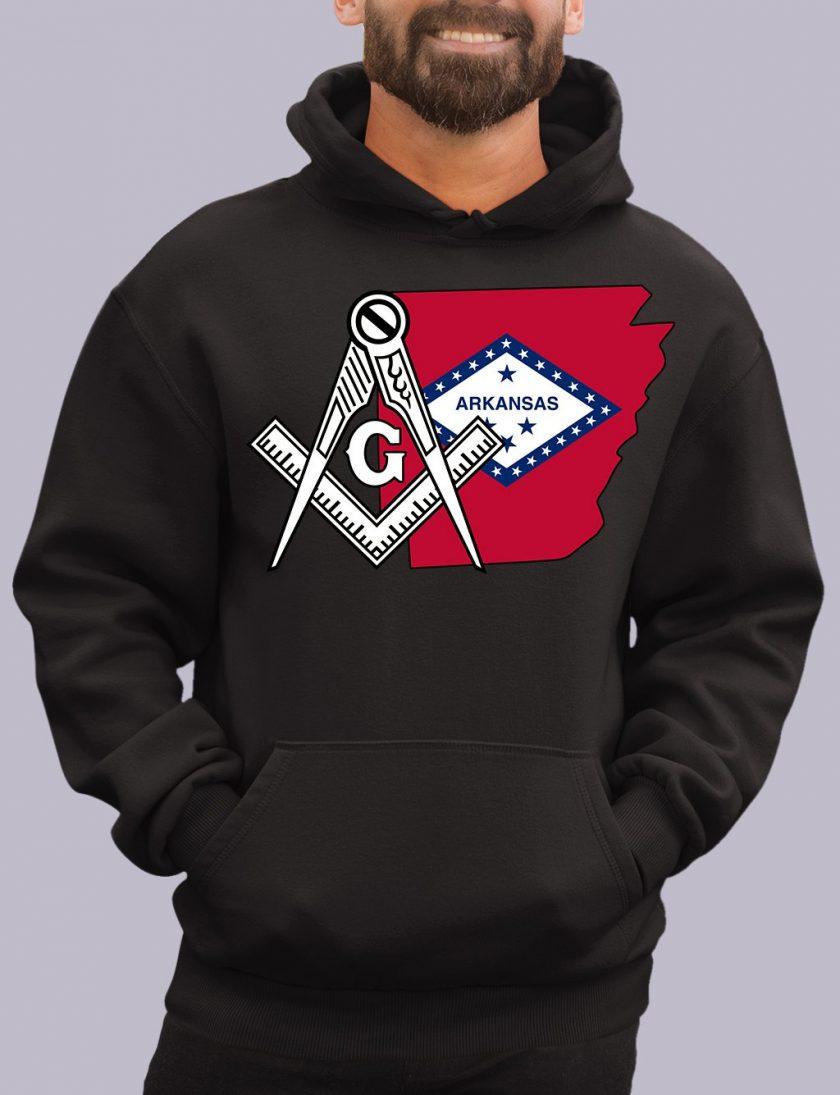 arkanses black hoodie