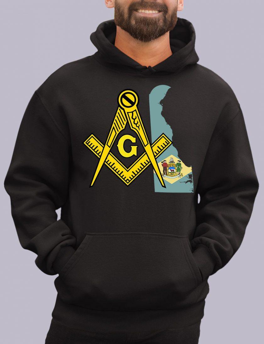 delaware black hoodie