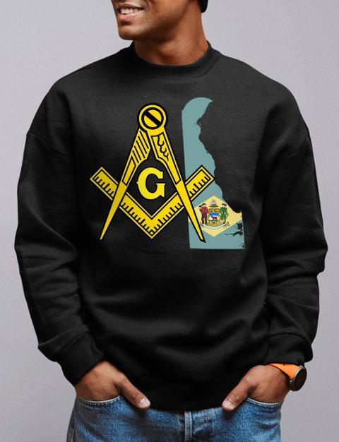 Delaware Masonic Sweatshirt delaware black sweatshirt