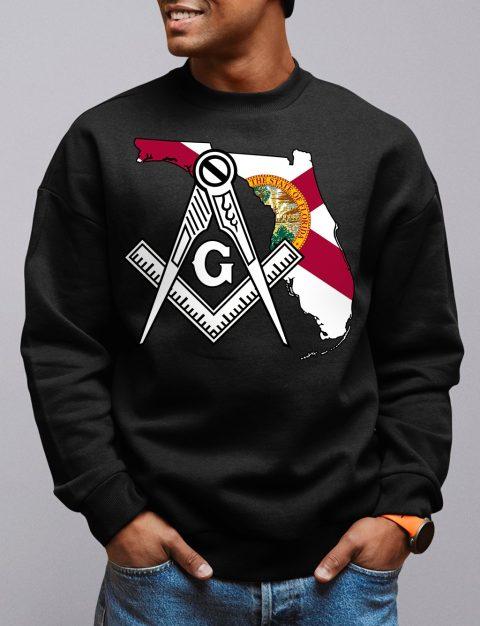 Florida Masonic Sweatshirt florida black sweatshirt