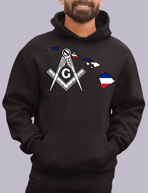 Hawaii Masonic Hoodie hawaii black hoodie