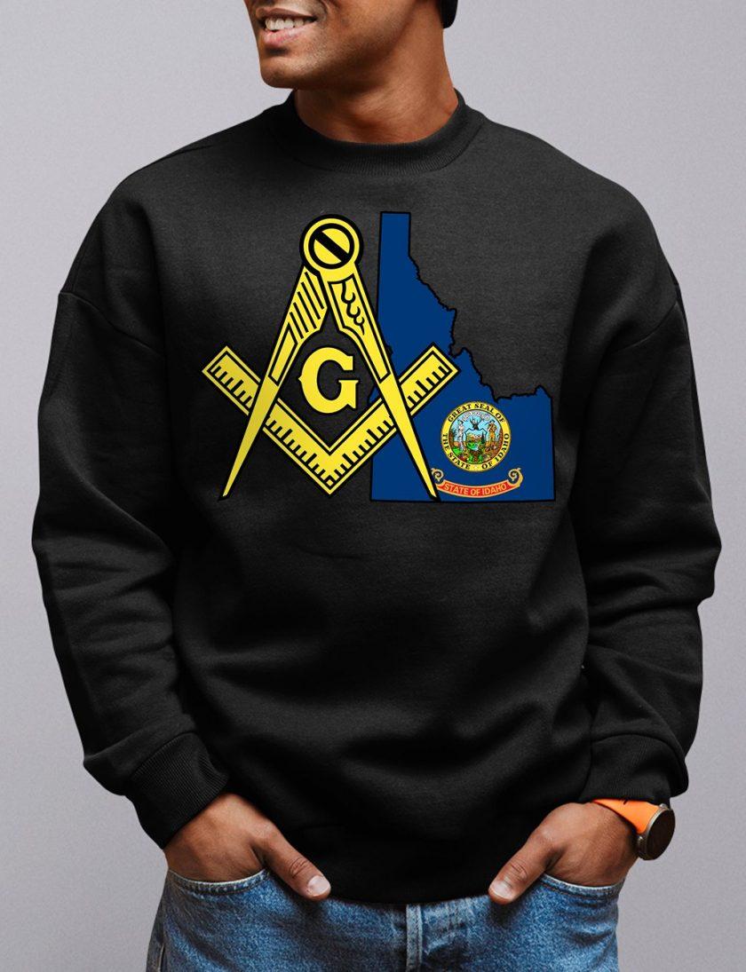idaho black sweatshirt