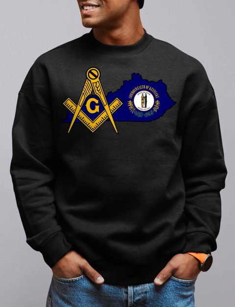 Kentucky Masonic Sweatshirt kentucky black sweatshirt