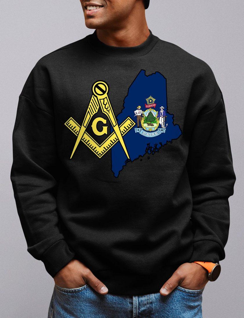 maine black sweatshirt