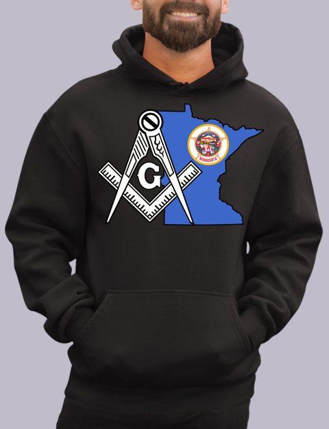 Minnesota Masonic Hoodie minesota black hoodie