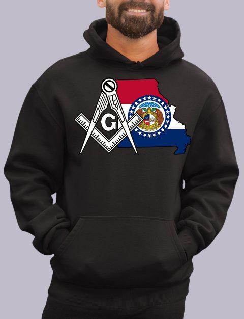 Missouri Masonic Hoodie missouri black hoodie
