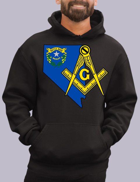 Nevada Masonic Hoodie nevada black hoodie