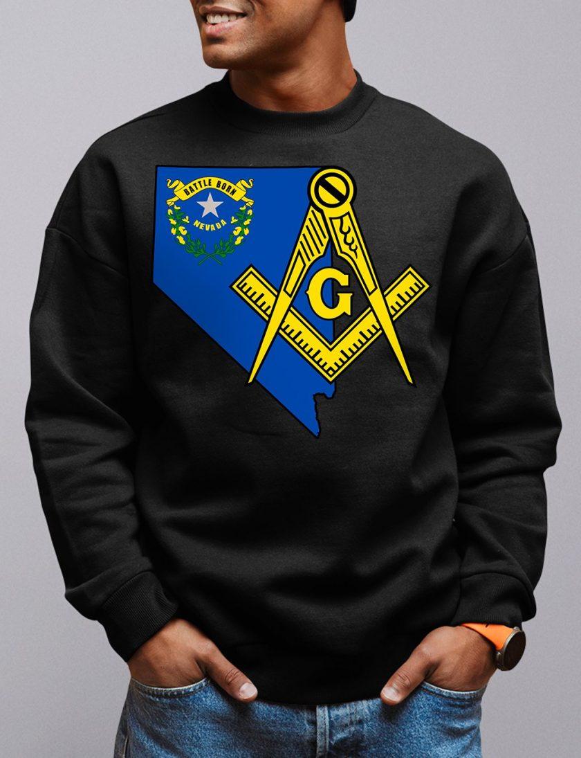 nevada black sweatshirt