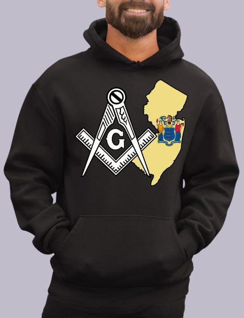 New Jersey Masonic Hoodie new jersey black hoodie