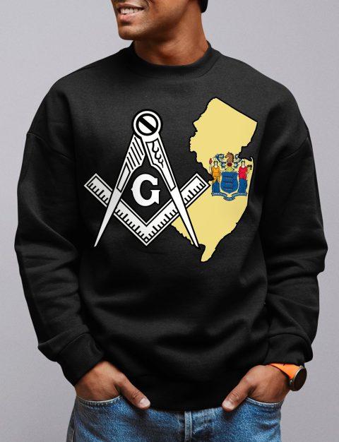 New Jersey Masonic Sweatshirt new jersey black sweatshirt