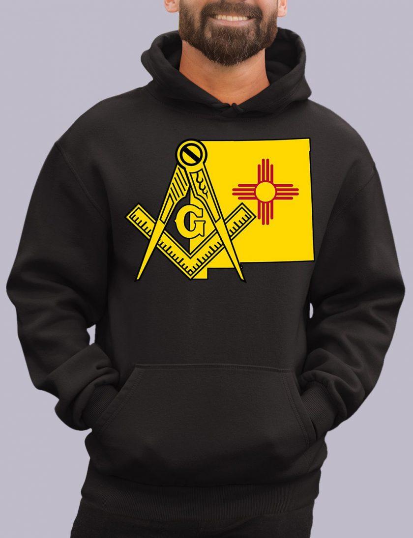 new mexico black hoodie