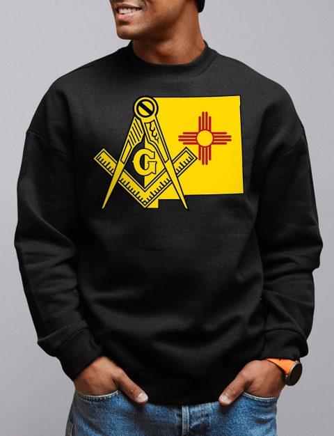 New Mexico Masonic Sweatshirt new mexico black sweatshirt