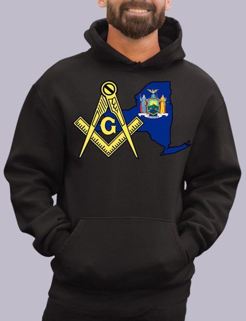 New York Masonic Hoodie new york black hoodie