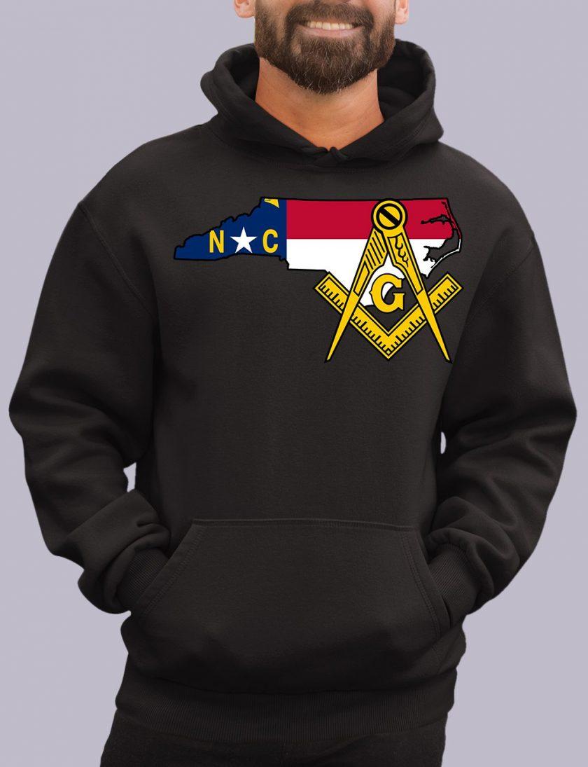 north carolina black hoodie