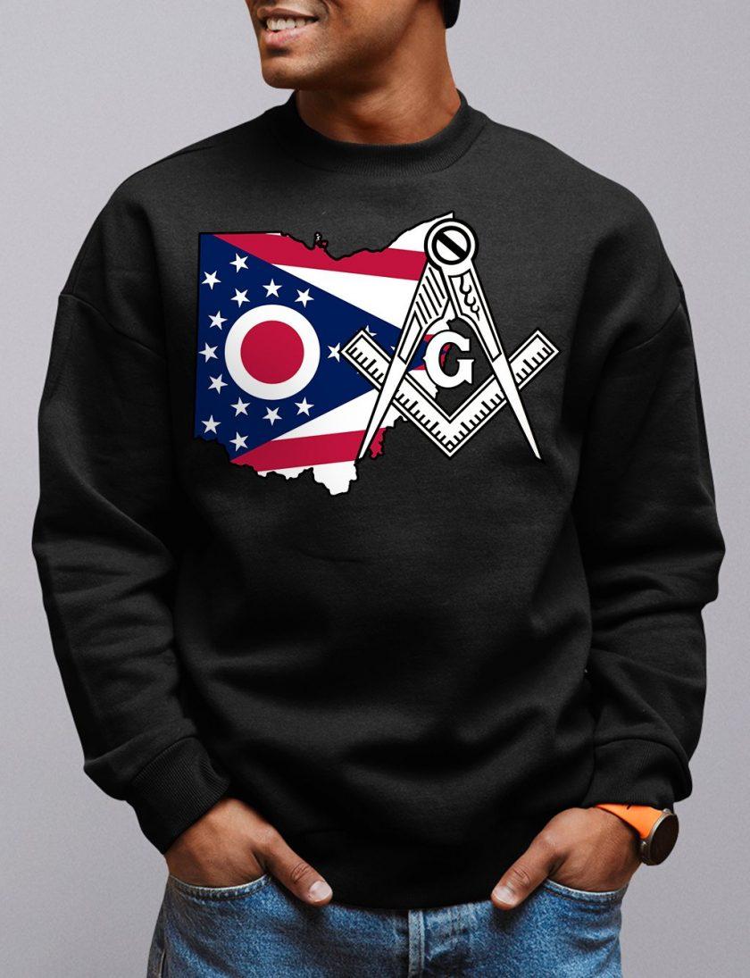 Ohio Masonic Sweatshirt ohio black sweatshirt