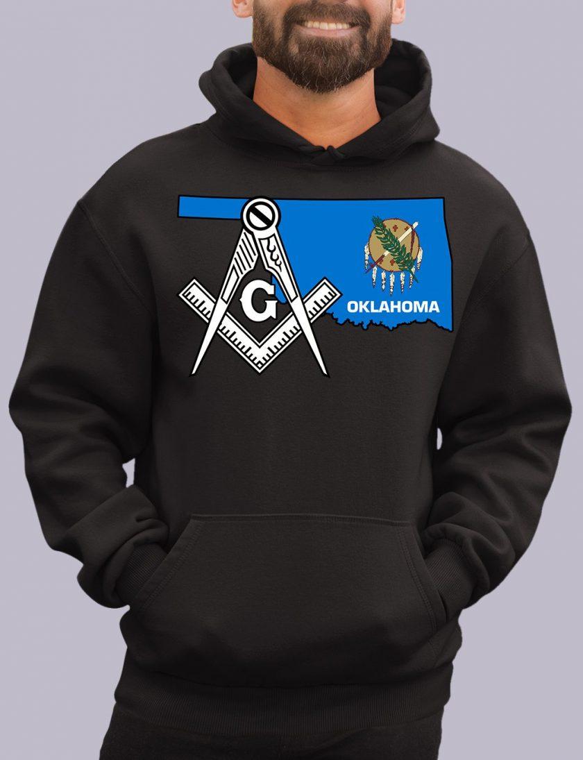 oklahoma black hoodie