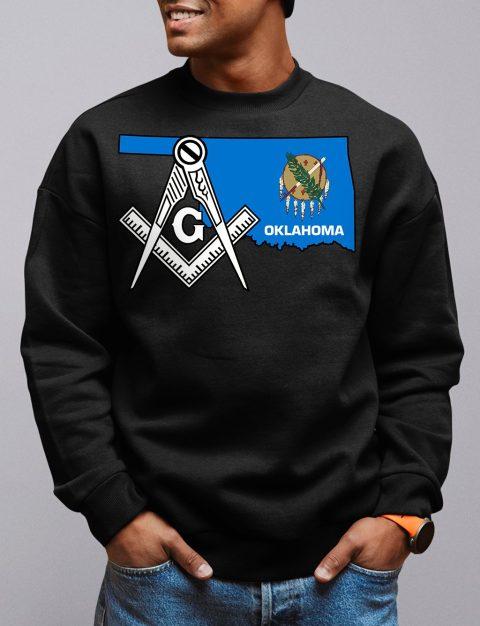 Oklahoma Masonic Sweatshirt oklahoma black sweatshirt