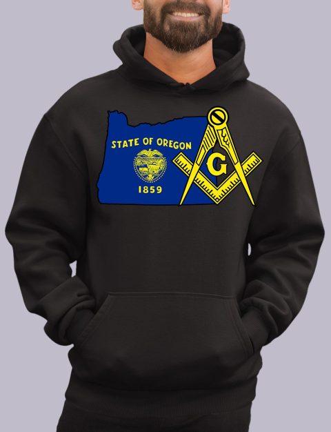 Oregon Masonic Hoodie oregon black hoodie