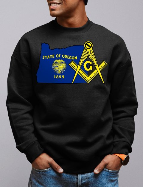 Oregon Masonic Sweatshirt oregon black sweatshirt