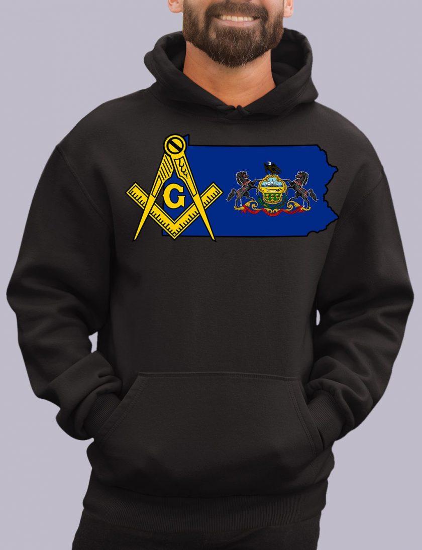 pennsylvania black hoodie