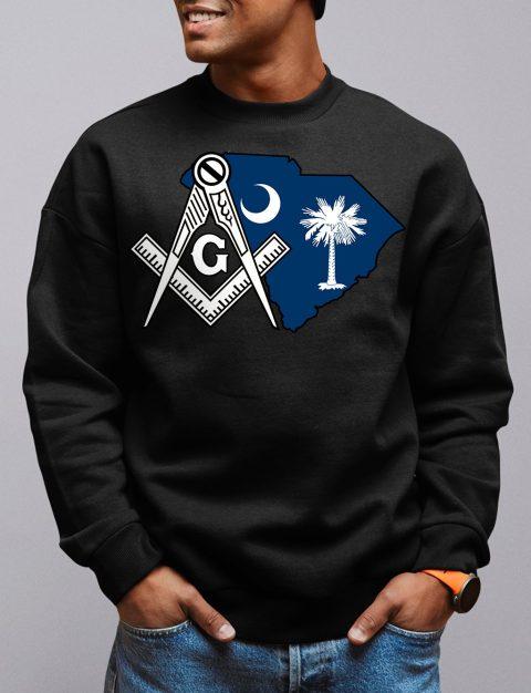 South Carolina Masonic Sweatshirt south carolina black sweatshirt